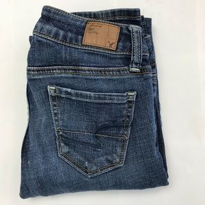 American Eagle Skinny Stretch Jeans Size 00